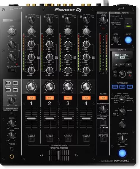 Mixer Pioneer Djm 750 Mk2, Djm-750 Mk2, Novo