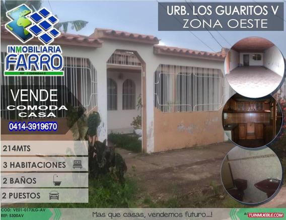 Venta De Casa En Lo Guaritos Ve01-0173lg-av