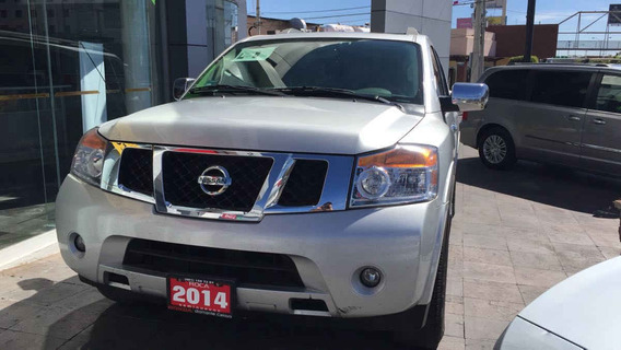 Nissan Armada 2014 5p Advance V8/5.6 Aut 4x2