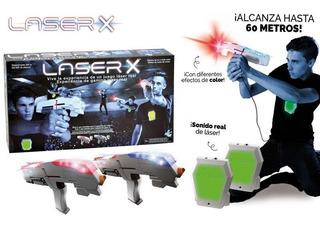 Set Pistolas Laser X - 2 Jugadores