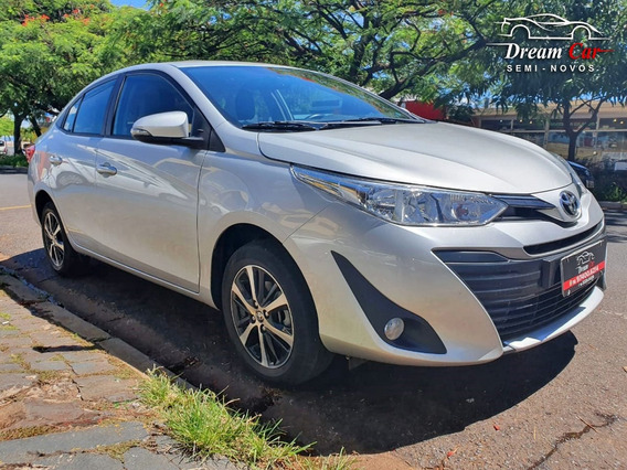 Toyota Yaris Sedan Xs 1.5 Prata 2019