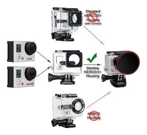 Imagen 1 de 4 de Fotodiox Pro Wonderpana Go Kit Adaptador Filtro Para
