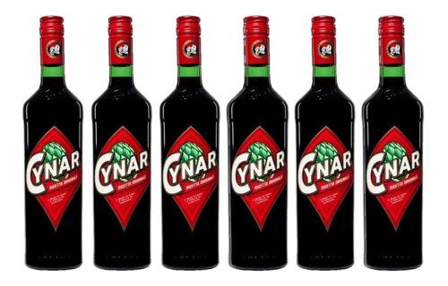 Aperitivo Cynar 750ml 6 Botellas X6 Unidades - Envío Gratis