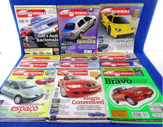 Quatro Rodas Lote Revista N°469, 470,471,472,473,468...