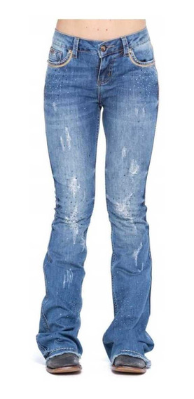 Calça Zenz Western Jeans Navy Feminina Lançamento