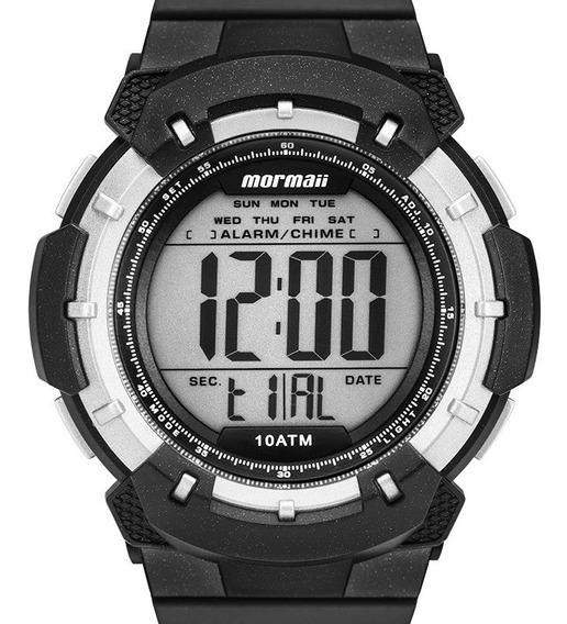 Relógio Masculino Mormaii Wave Digital Preto Prova D