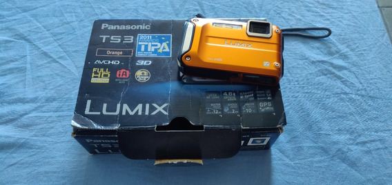 Camera Digital Panasonic Ts3 Prova D