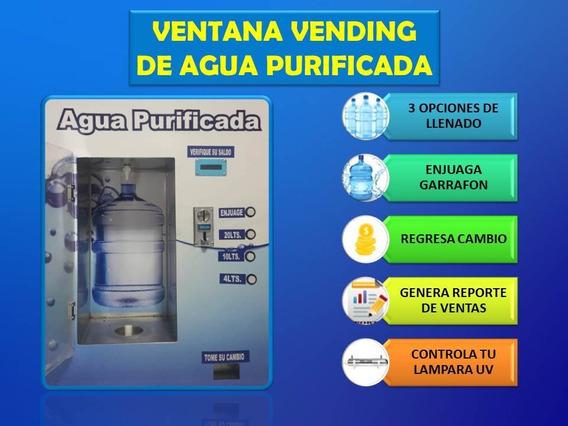 Ventana Vending Despachador De Agua Purificada