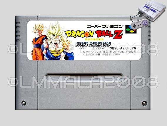 Dragon Ball Z Hyper Dimension Portugues Super Nintendo Snes
