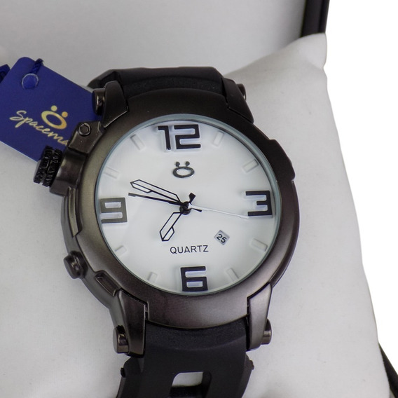 Relógio Original Pulseira De Borracha Preto Em Promoção