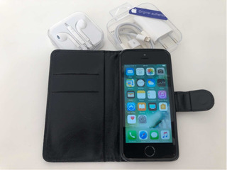 Celular iPhone 5s Original Perfeito Estado Brinde Capa Couro