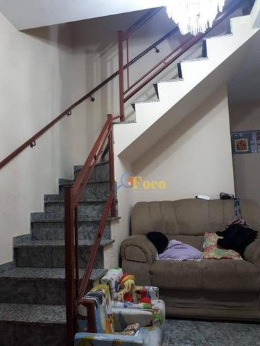 Imagem 1 de 11 de Casa Com 2 Dormitórios À Venda, 110 M² Por R$ 350.000,00 - Parque Almerinda Chaves - Jundiaí/sp - Ca0717