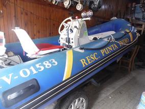 Semirriguido Sail Nauti 4.20 M Con Jonhson 35 Hp Y Auxiliar