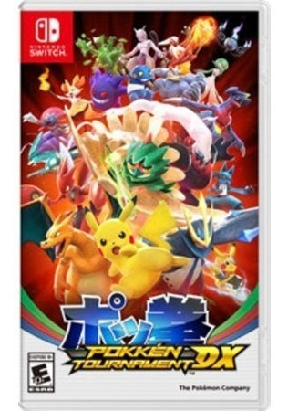 Jogo Pokemon Pokken Tournament Dx Nintendo Switch Lacrado