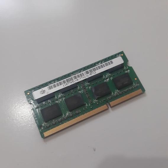 Memoria Para Notebook 4 Gb Ddr3 Pc 10600s