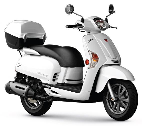 Moto Scooter Kymco Like 125 - 0km - Lidermoto Laplata