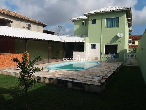 Casa Residencial À Venda, Araçatiba, Maricá. - Ca2974