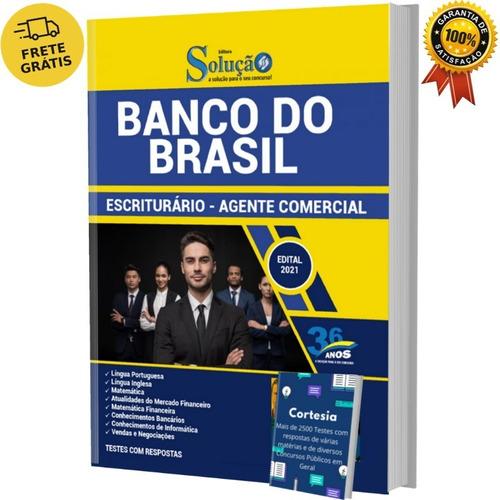 Imagem 1 de 6 de Apostila Escriturário Banco Do Brasil - Editora Solução
