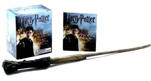 Harry Potter Wizards Wand Sticker Kit Miniatura Lacrado