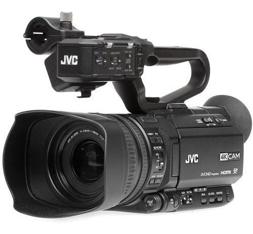 Filmadora Jvc 4k Gy-hm250 Para Transmissão Ao Vivo Com Gc