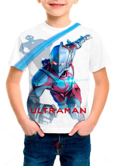 Camiseta Infantil Anime Ultraman - M001