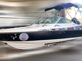 Lancha Fibralux 19 Barco Iate N Phantom Azimut Cimitarra