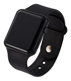Relógio De Pulso Led Digital Unisex Estilo Apple Watch Smart