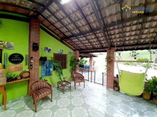 Chácara Com 3 Dormitórios À Venda, 2612 M² Por R$ 695.000,00 - Rosário - Atibaia/sp - Ch1460