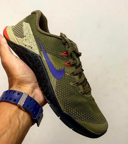 enlazar Verde Derrotado  Tênis Nike Metcon 4 Crossfit   Mercado Livre