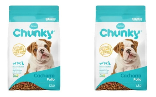 1 Paquete Chunky Cachorros 2 Kg