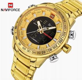 Relógio Naviforce 9093 Dourado - Original