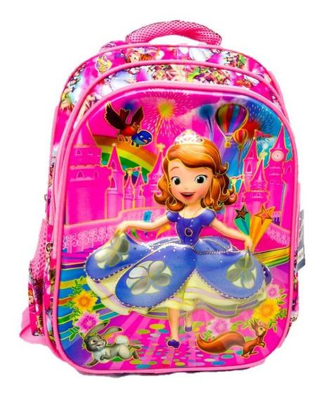 Mochila G Infantil 3d Costas Ladybug , Minnie, Vingadores