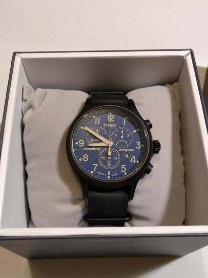 Reloj Timex Expedition Con Cronometro Nuevo En Caja