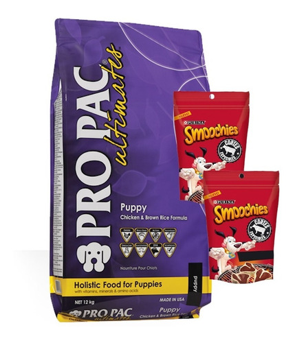 Alimento Pro Pac Cachorros 12k+ Promo-ver Foto+ Envío Gratis