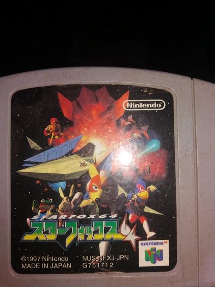 Star Fox 64 Nintendo 64 Original Raro