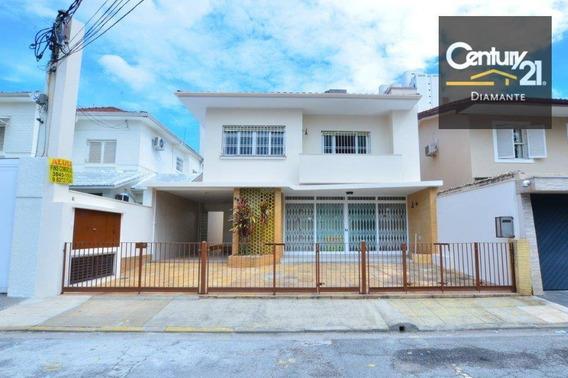 Sobrado Para Alugar, 271 M² Por R$ 10.000/mês - Itaim Bibi - São Paulo/sp - So0683