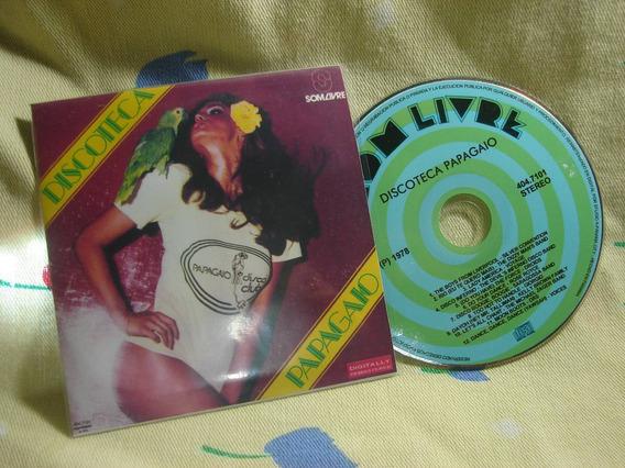 Discoteca Papagaio Cd Remasterizado Disco Music Anos 70