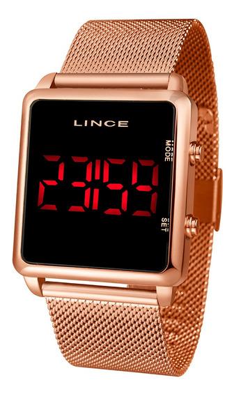 Relógio Lince Led Clássico Mdr4596l Pxrx