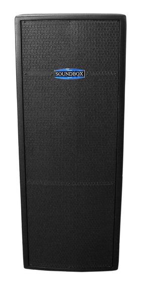 Caixa Ativa 600w Thunder 15 Dupla Preta Soundbox Imperdível