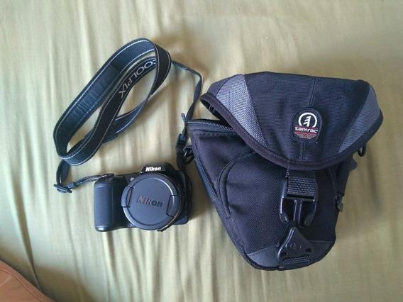 Câmera Nikon Coolpix L810 + Bag