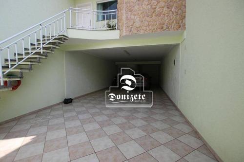 Sobrado Com 3 Dormitórios À Venda, 250 M² Por R$ 1.350.000,10 - Vila Assunção - Santo André/sp - So3735