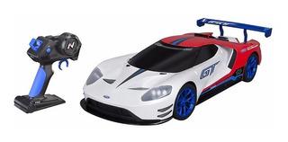 Carro De Carreras Nikko Ford Gt Rc Recargable Control Remoto