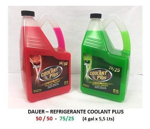 Refrigerante Coolant Plus 50/50 Y 75/25