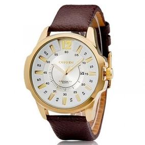 Relógio Masculino Curren Analógico 8123 Gold Original