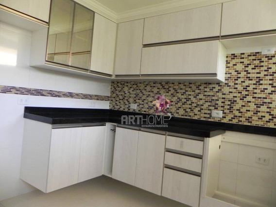 Lindo Apto 2 Dorm, 1 Suite, 1 Vg Coberta, Vila Floresta, Sto Andre - Ap1292