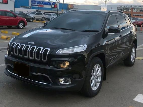 Jeep Cherokee Longitude Plus Negro Brillante