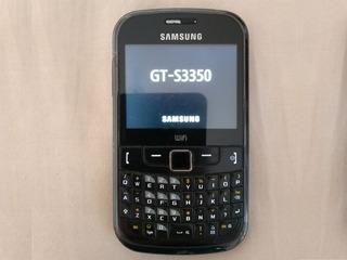 Celular Samsung S3350 Com Carregador - Usado