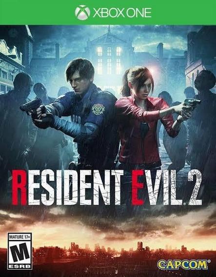 Resident Evil 2 Xbox One Mídia Física Lacrado