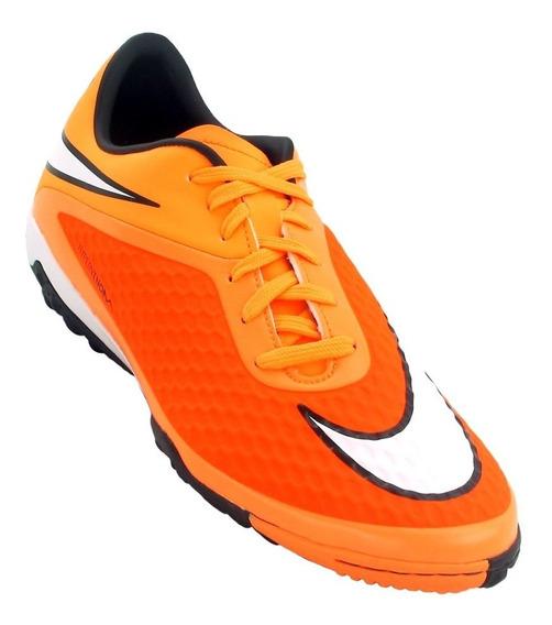Tenis Nike Hombre Naranja Hypervenom Phelon Tf 599846800