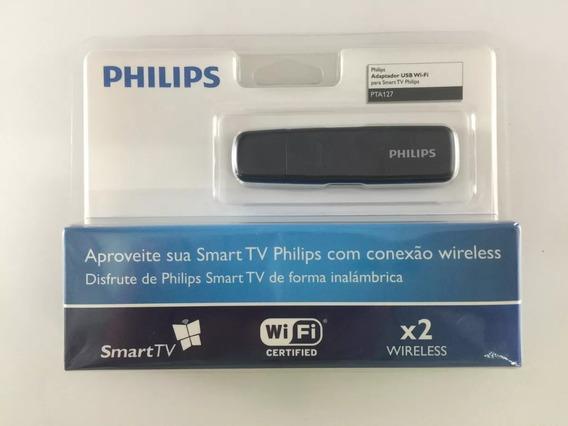 Adaptador Wi-fi Usb Pta127 Philips - Original Novo